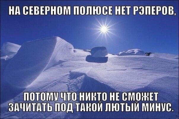 На северном полюсе нет рэперов